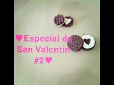 ♥Especial de San Valentín #2♥- galletas de la amistad con porcelana fria