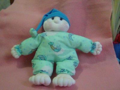 Muñecos soft. bebé fácil. proyecto 135