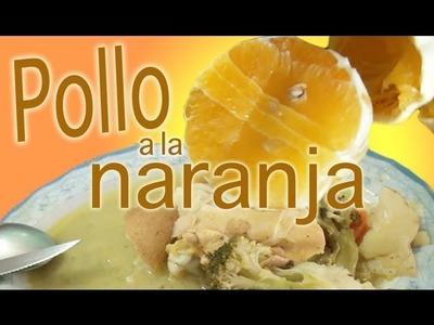 Pollo a la naranja - al estilo de la abuela Oti