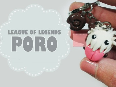 Poro League of Legends Polymer Tutorial. Fimo. Porcelana. Plastilina