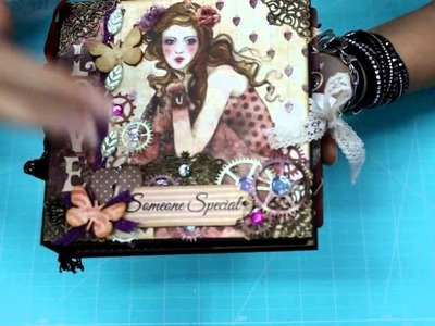 Presentacion Mini Album Mirabelle  Bellaluna crafts Scrapbooking