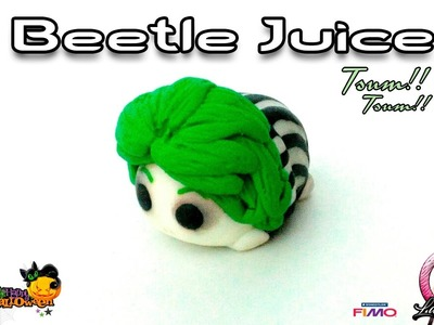 Tsum Tsum | Beetle Juice | Polymer Clay Tutorial | 2016
