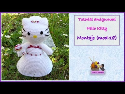 Tutorial amigurumi Hello Kitty - Montaje (mod-18)