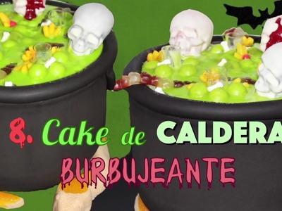 11 Postres y Pasteles para HALLOWEEN Jack Skeleton, Cake de Caldera, Bombas de Araña sin Horno