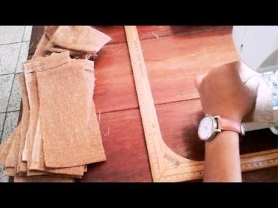 Cómo hacer costalitos de yute o manta