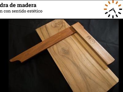 Cómo hacer una escuadra de madera