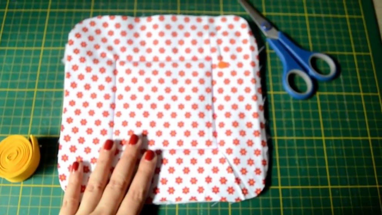 Como hacer una panera