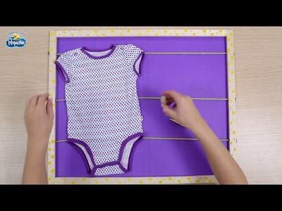 Cuadro de recuerdos para el cuarto de tu bebé