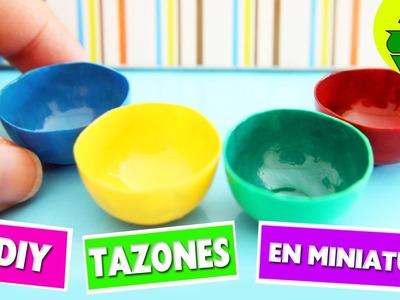 DIY | Bowl. Tazones en miniatura - manualidadesconninos