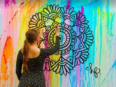 Pinta tu pared con Globos!!! Mural increible! | Dani Hoyos Art