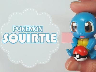 Pokemon Squirtle Polymer Tutorial | Fimo | Porcelana | Plastilina