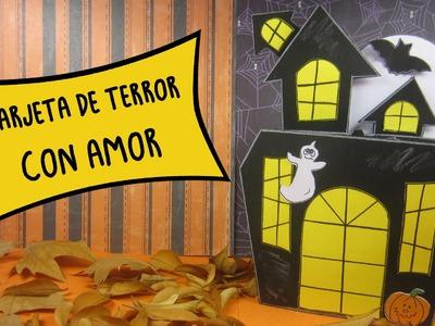 Tarjeta de Terror con Amor