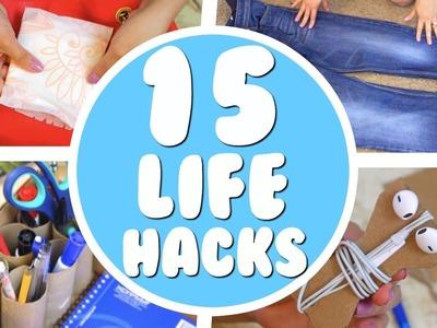 15 TIPS.HACKS QUE TODO EL MUNDO DEBERÍA SABER!!!