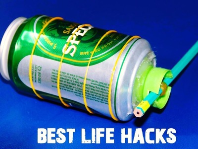 20 cosas locas se pueden hacer con Latas De Aluminio - hacks vida - parte 1