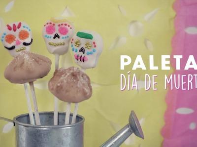 Cakepops sabor a PAN DE MUERTO!. Paperpop