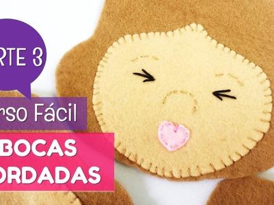 Cómo bordar bocas en muñecos de fieltro (3.3) | facilisimo.com