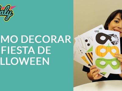 Cómo decorar tu fiesta de Halloween