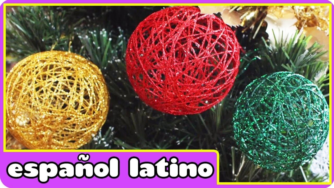 Como hacer adornos navide os christmas ornament - Como hacer centros navidenos ...