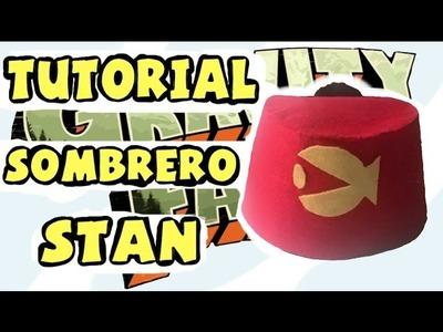 Cómo hacer el sombrero de Stan - Tutorial Gravity Falls
