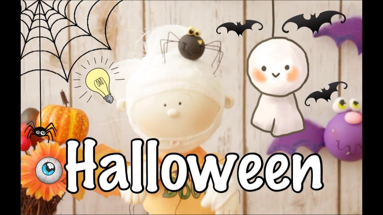 Decoración para Halloween |Pasta Flexible