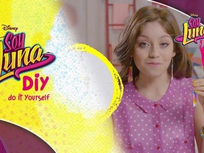Disney Channel España | Soy Luna - DIY Fashion & Beauty - Pendientes únicos (Karol Sevilla)