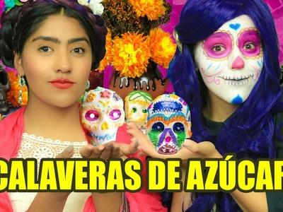 DIY CALAVERAS DE AZÚCAR | MUSAS LESSLIE LOS POLINESIOS