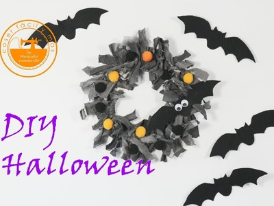 Ideas para una fiesta de Halloween: decorar una corona