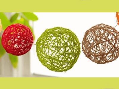 MANUALIDADES fáciles para hacer en casa: Esferas para decorar! - BeagleArts ♥.