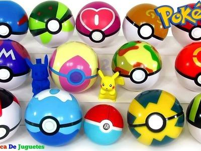 Pokebolas Sorpresa Pokémon Parte 2 Pokeballs o Pokebolas de Colores de Verdad con Pokémons