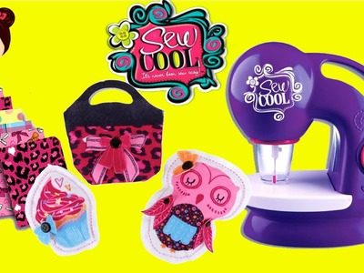 Sew Cool Maquina de cocer para niñas - Juguetes Manualidades