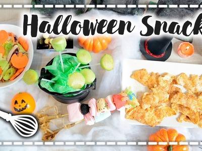 Snacks de Halloween SUPER rápidos