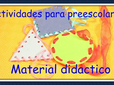 ACTIVIDADES PARA NIÑOS PREESCOLARES. MATERIAL DIDACTICO
