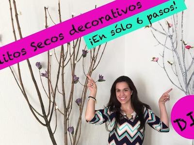 Arbolitos decorativos ¡Hazlos en 6 sencillos pasos!