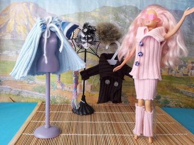 Cómo hacer ropa para muñecas con reciclaje !!! 3ª parte