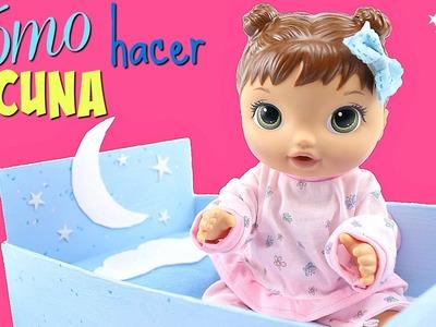 Cómo Hacer una Cuna para Muñecas Baby Alive Perla Jolie • Muebles para muñecas