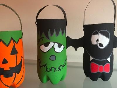 DIY - Botella de Dulces - Halloween! l i-ANi