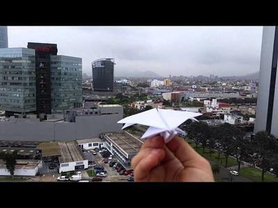 El mejor avión de papel