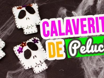 Manualidades de Día de Muertos | Cómo hacer Calaveritas de Peluche con fieltro | Mini Tip# 108