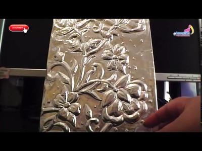 Tips para trabajar el repujado,  arte en metal