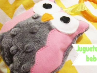 Tutorial: Sonaja. juguete de Buho para bebes - Los290ss