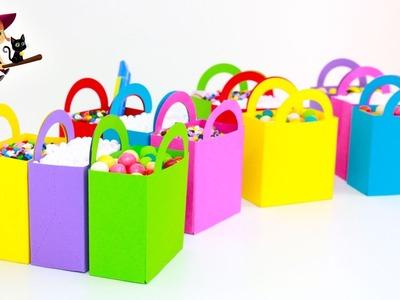 12 Bolsas Sorpresas de Diferentes Colores Llenas de Juguetes y Huevos Sorpresa
