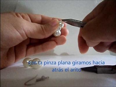 Como hacer aretes fáciles