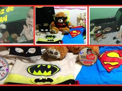 Disfraz de Batman para niños para fiestas Temáticas o Halloween.Batman costume DIY
