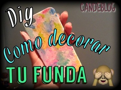 DIY decora tu funda