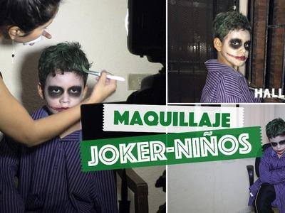Maquillaje Joker. Guasón para Niños Fácil - Halloween | #ViernesconKarla :) - Fem Life