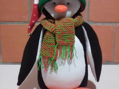 Pingüino Navideño -Paso a Paso para armarlo