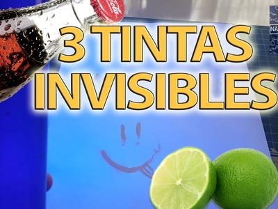 3 formas increibles para hacer tinta invisible | NQUEH