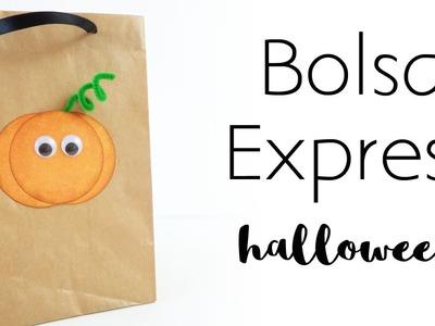Bolsa Express Halloween | Bolsa para chuches | Día de muertos