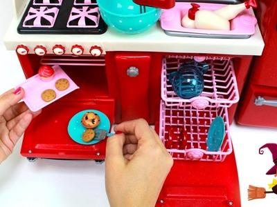 Cocinita de Juguetes con Muchísimos Accesorios de Cocina