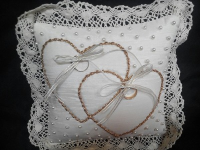 COJÍN PARA ANILLOS  (Little Pillow Cushion for wedding bands)